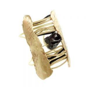 handmade bracelet gold plated